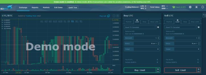 If you jsut want to try trading, you can use demo mode
