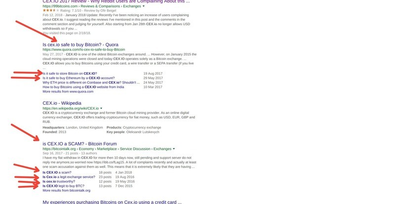 You can also find a lot of search results in SERP
