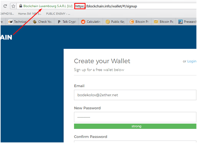 bitcoin wallet https security protocol