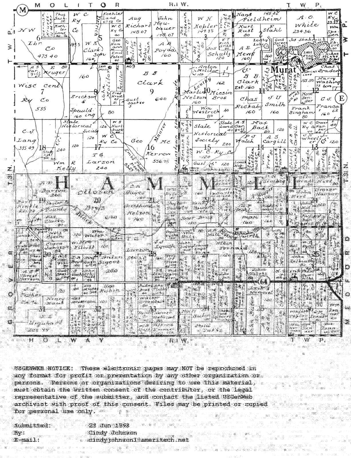 Land Wi Records County Columbia