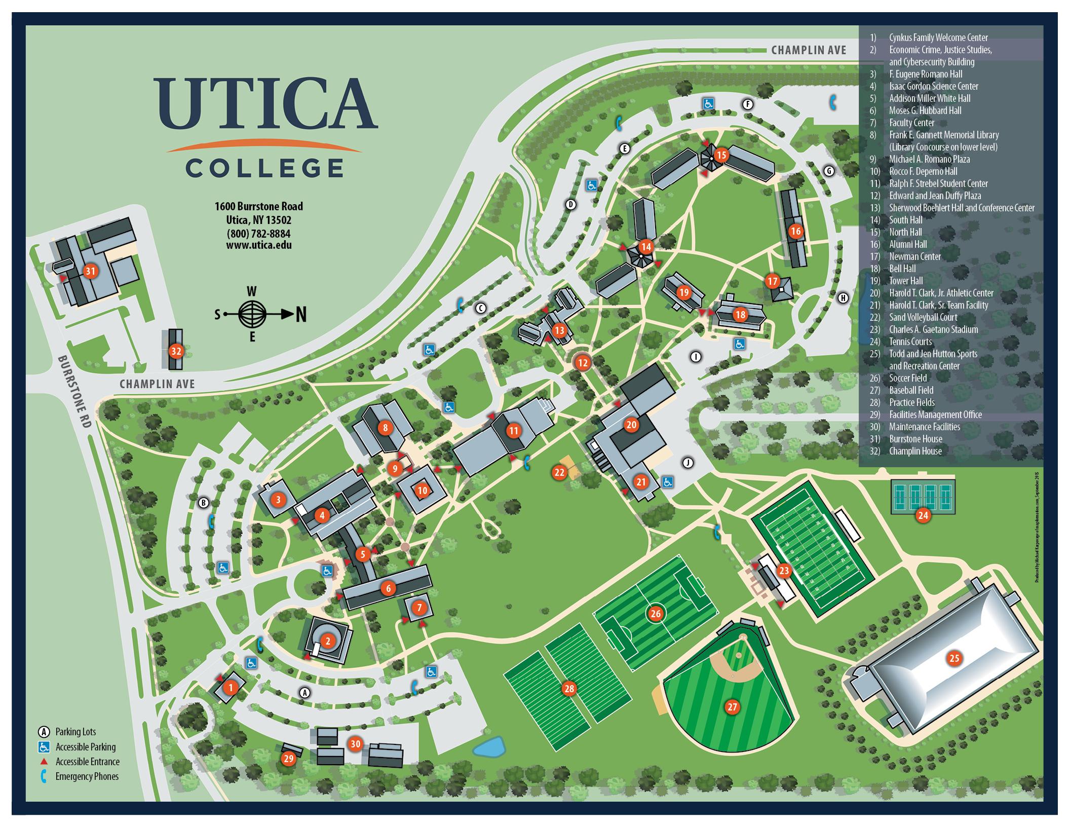 University Albany Map