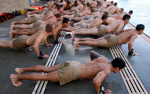 Navy Seals Swimming Workout