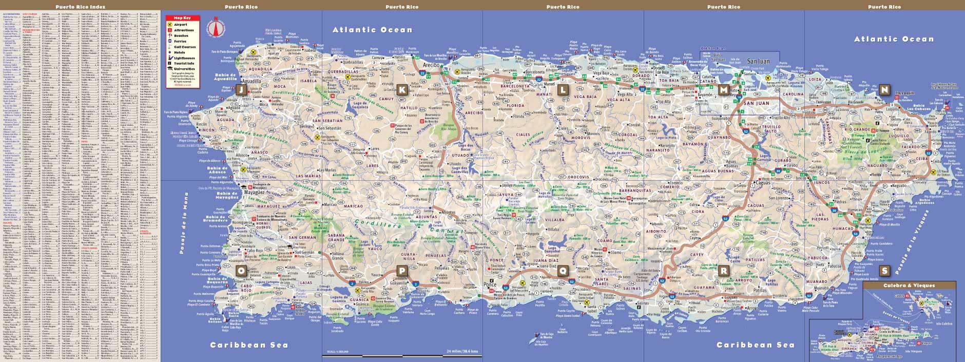 road map of puerto rico Puerto Rico Road Map Mapquest road map of puerto rico