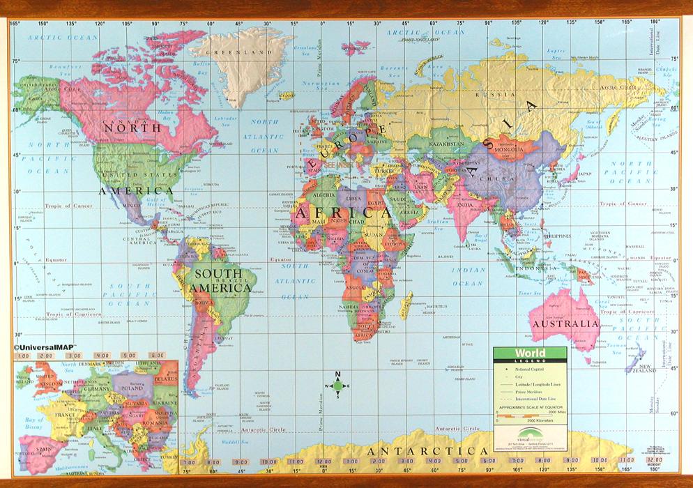 world map with latitude and longitude - 994×700