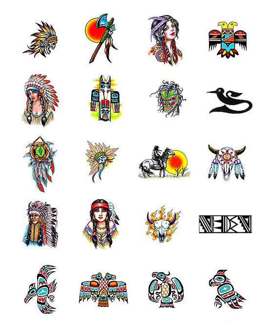 Cherokee Indians Symbol Tattoo Meanings