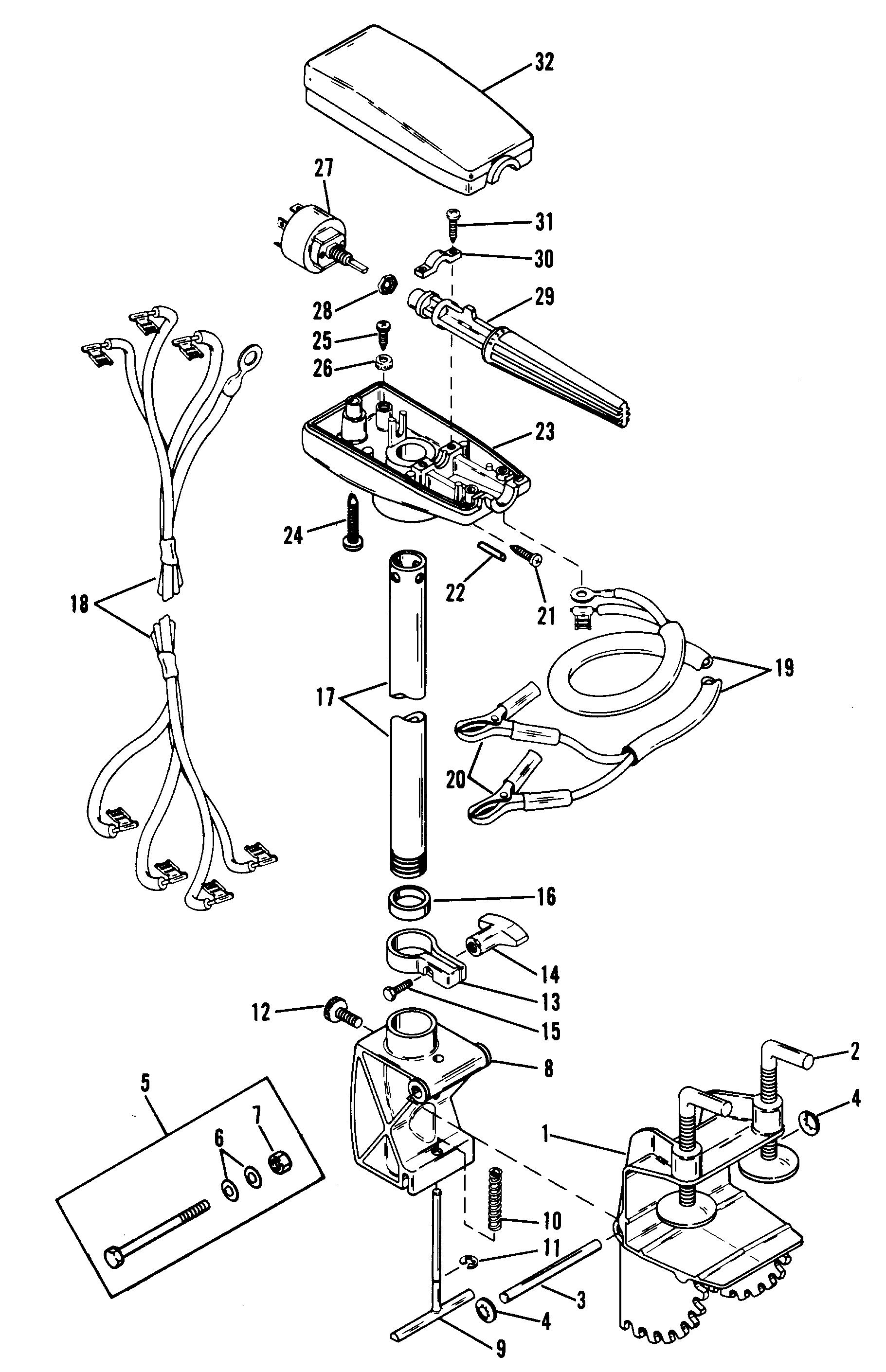 Mercury trolling motor thruster ii 6300953 and up drive mercury outboard lower unit diagram mercury outboard parts diagram pressor