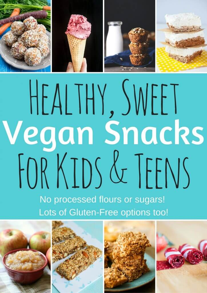 Healthy Vegan Snacks For Kids Amp Teens Sweet Edition