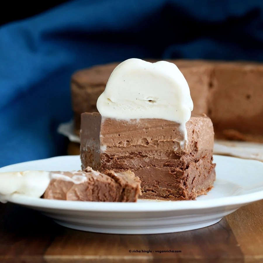 Triple Layer Mousse Cake