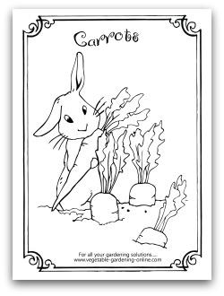 garden coloring page # 40