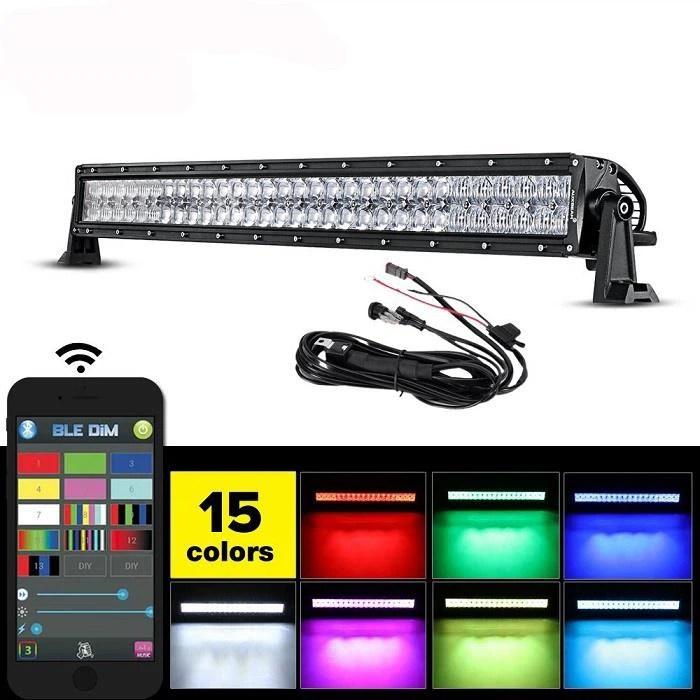 Led Light Bar Color Morph