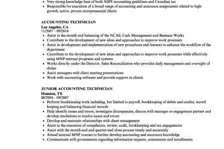 accounting technical skills resume » Full HD MAPS Locations ...