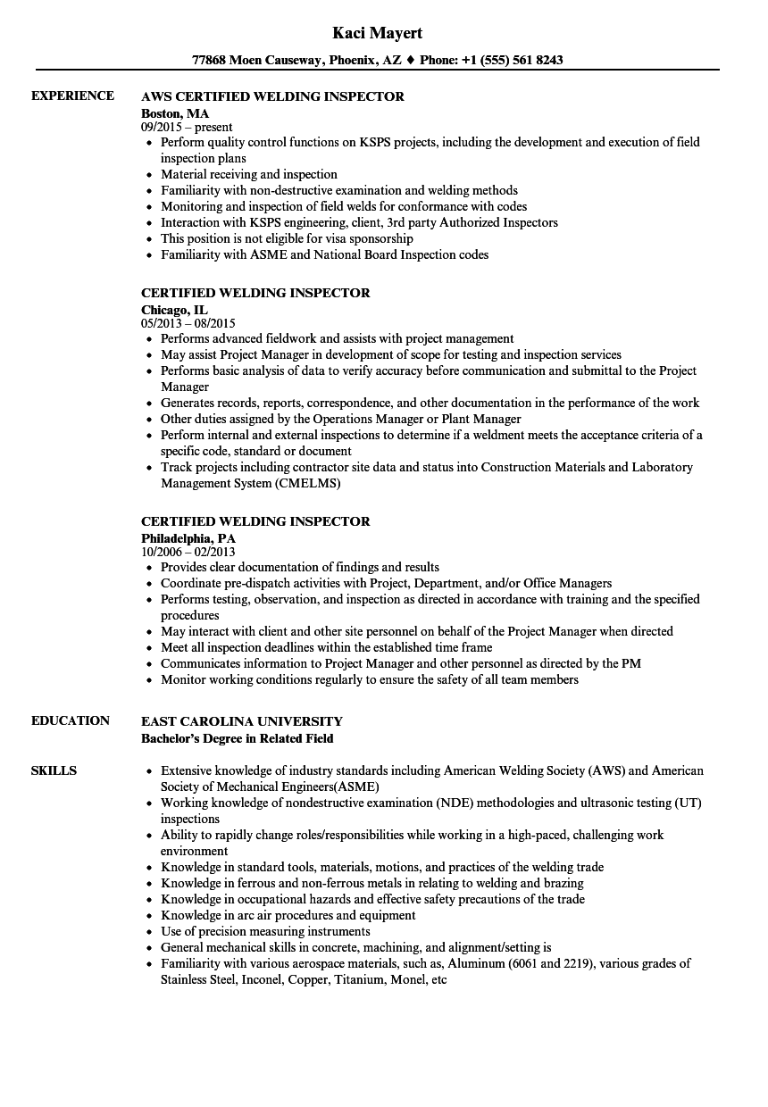 Beautiful Qa Qc Engineer Cv Images - Resume Template Samples ...