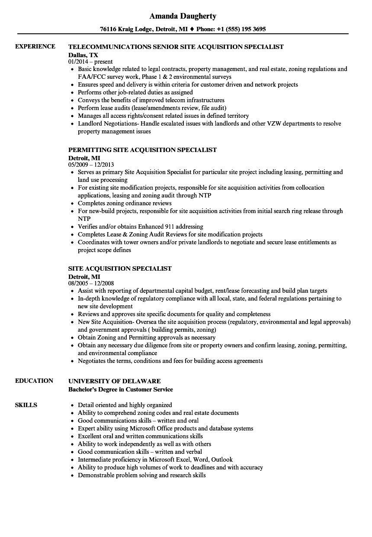 Private Security Resume