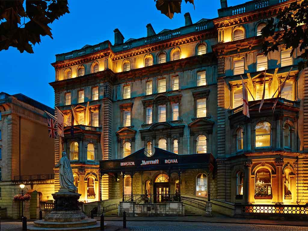 Bristol Marriott Royal Hotel Bristol 187 Venue Details