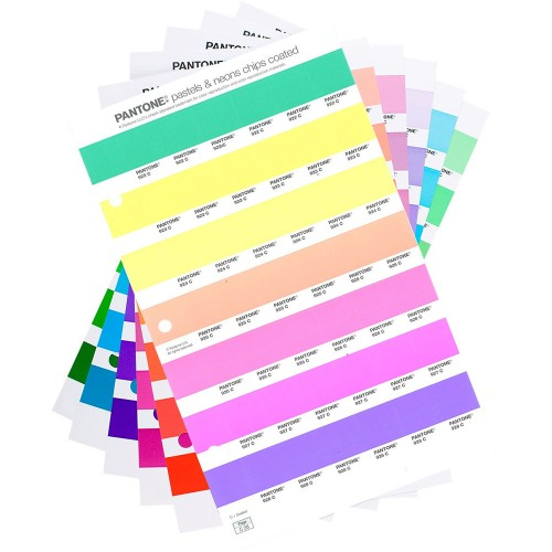 Replacement Pages- Pastel & Neons Chips