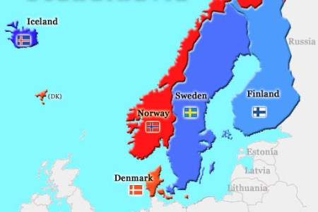 map of scandinavia and iceland map of europe map of the world ...