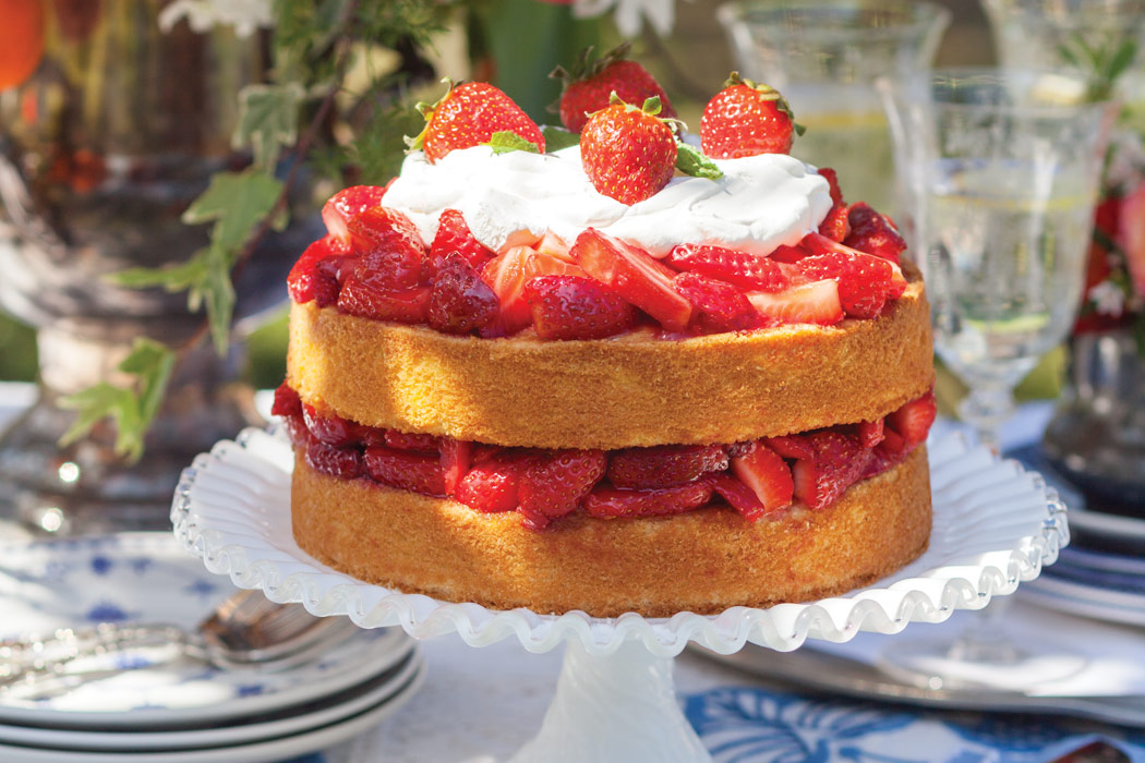 Large Strawberry Shortcake