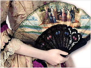 Victorian Clothing   Victorian Fashion  PHOTOS  Victoriana Magazine The Fan Popular from the 16th through 19th centuries  The Art of the Fan  The art of using the fan by Joseph Addison