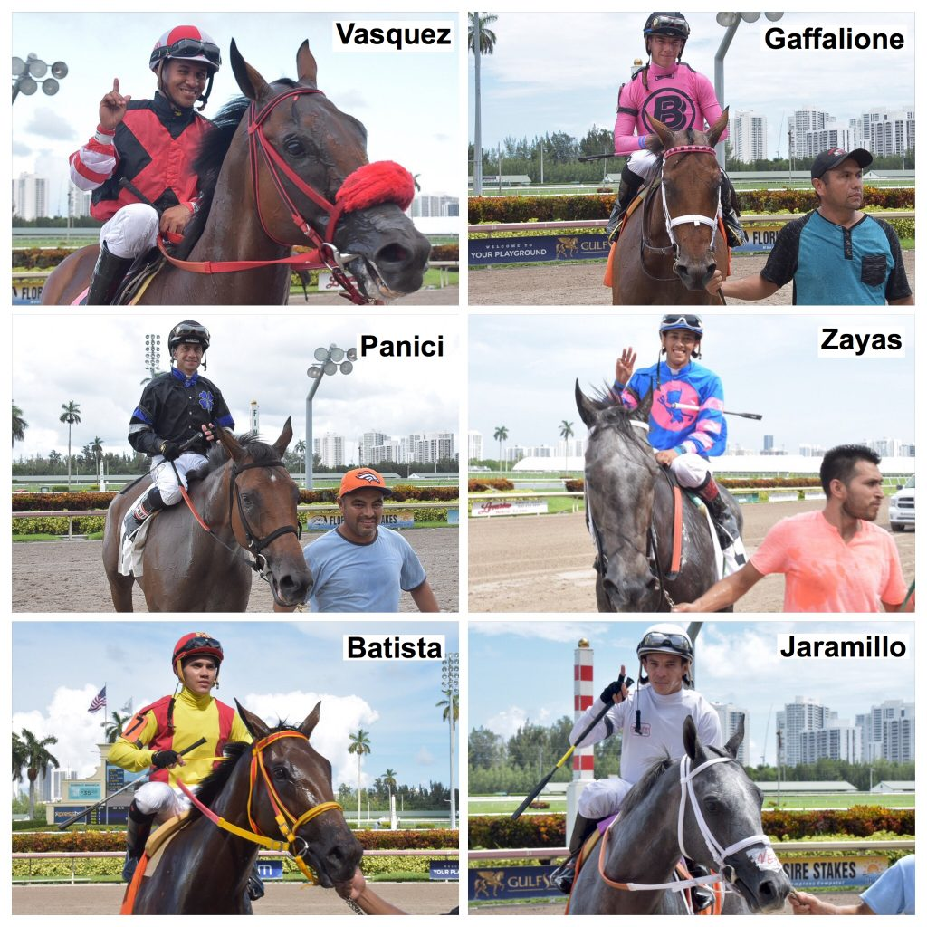 Gulfstreampark Summermeet Top Jockeys Jinetes L 237 Deres