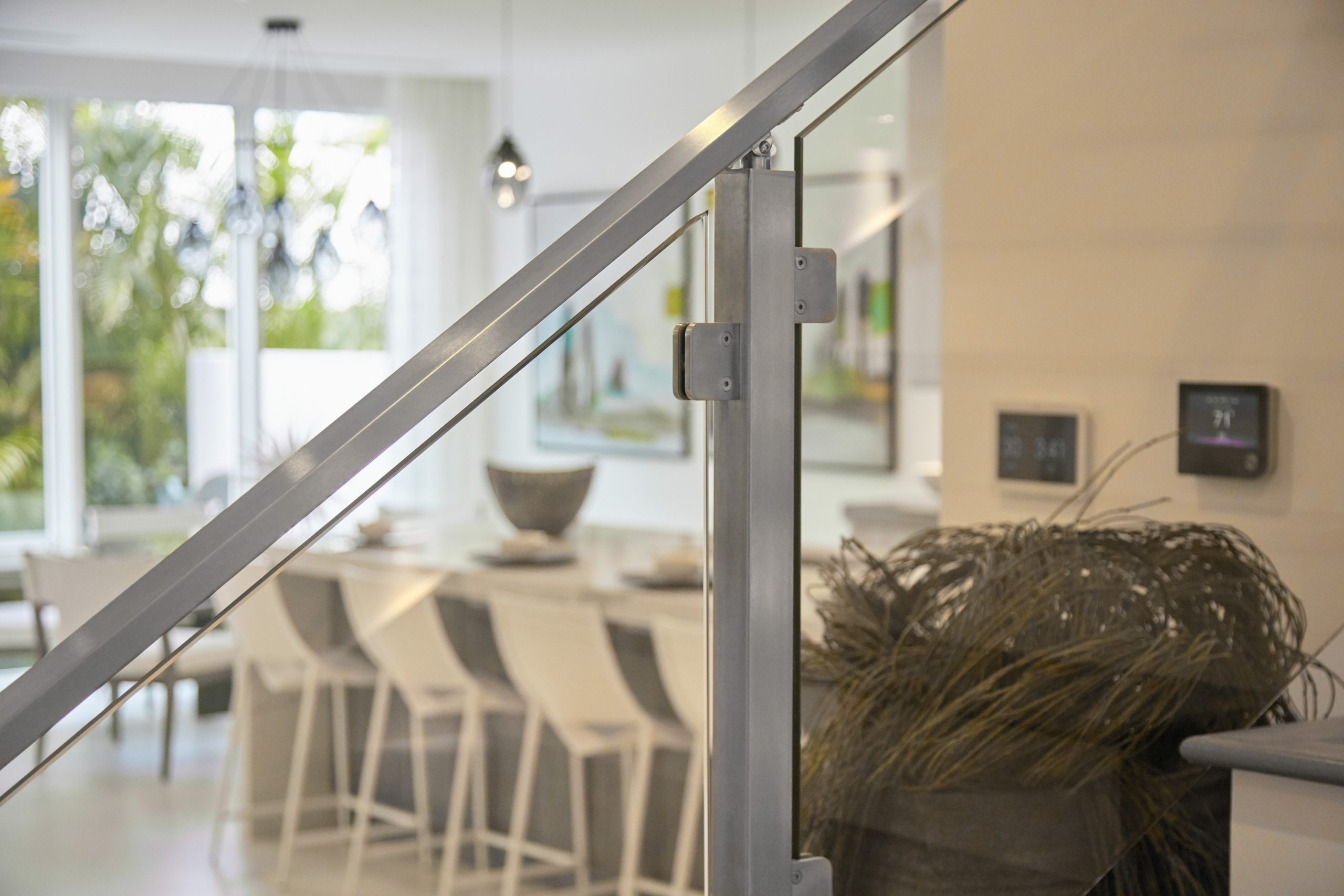 Glass Railing Glass Panel Railing For Stairs Decks Balconies | Staircase Handrail Glass Designs | Frosted Glass | Curved | Glass Baluster | Glass Painting | Glass Etching