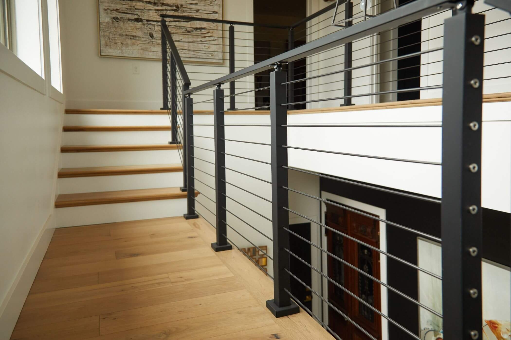 Stainless Steel Railing Rod Stair Railing Kits Posts Parts | Attaching Handrail To Post | Spindles | Newel Post | Stair Handrail | Baluster | Rim Joist