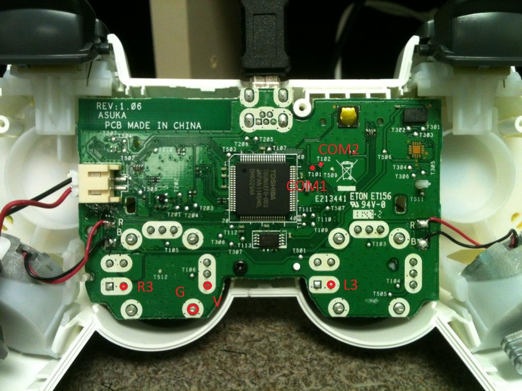 Xbox 360 Controller Wire Color In Diagram