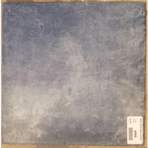 Porcelain Saltillo look 12 x 12 blue floor tile