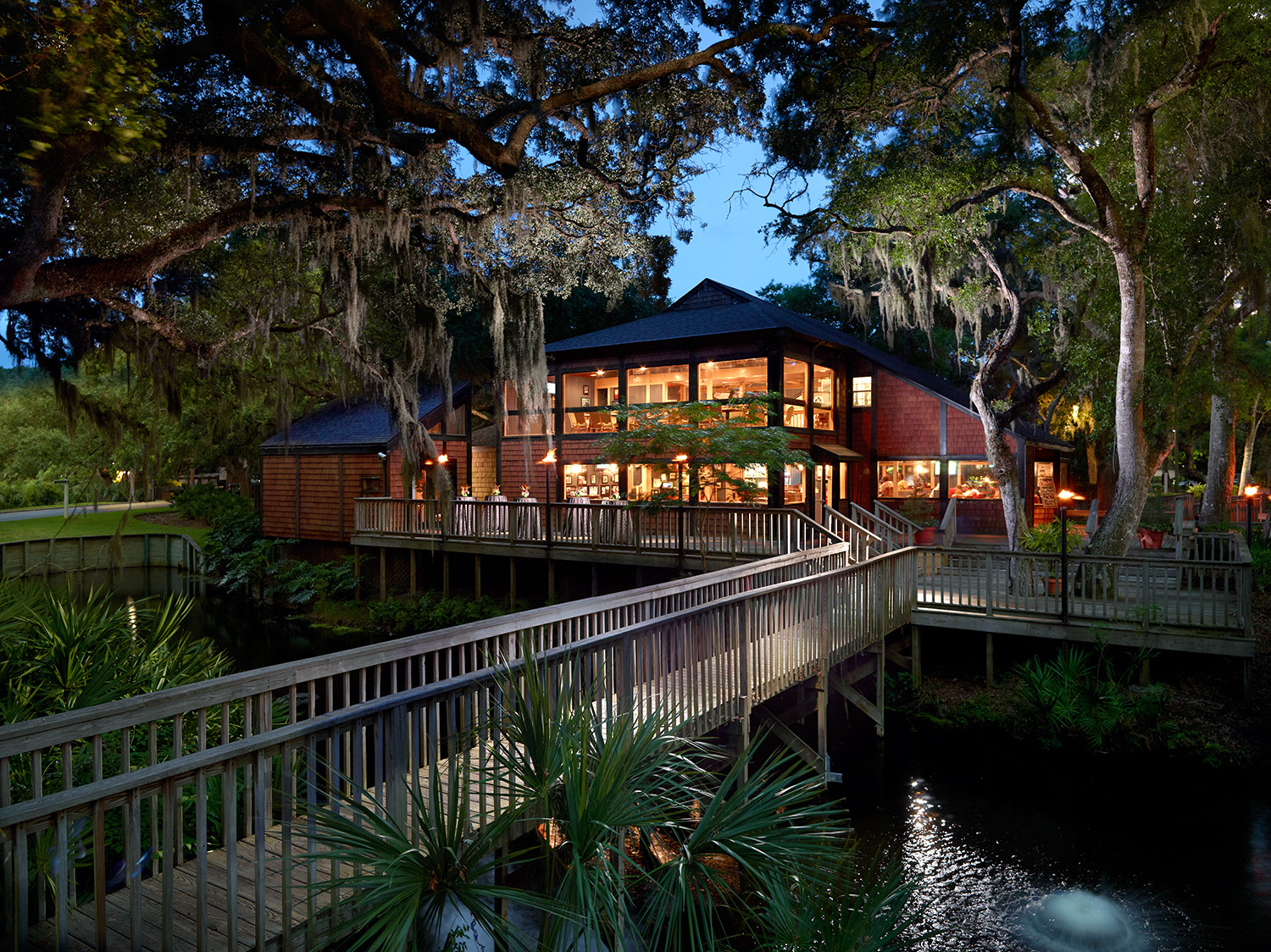 Falcon s Nest   Villas of Amelia Island Fernandina Beach Dining Stop in after work or a long day of Amelia Island resort activities and  check out this restaurant family friendly pub that pays homage to civil and  military
