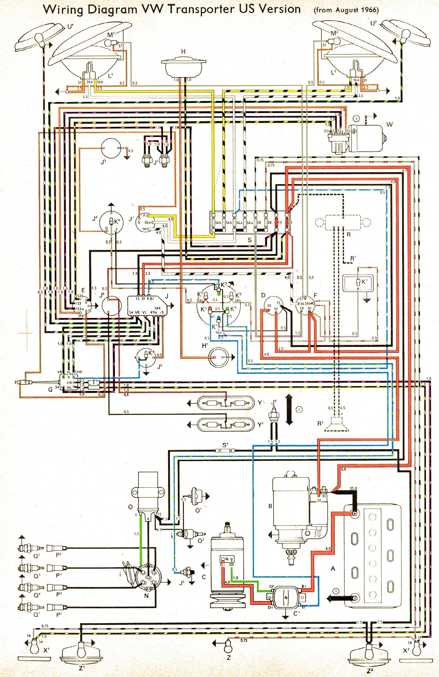 Volkswagen Wiring Diagrams Html