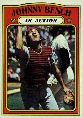 1972 Topps Johnny Bench 434 Baseball Card Value Price Guide