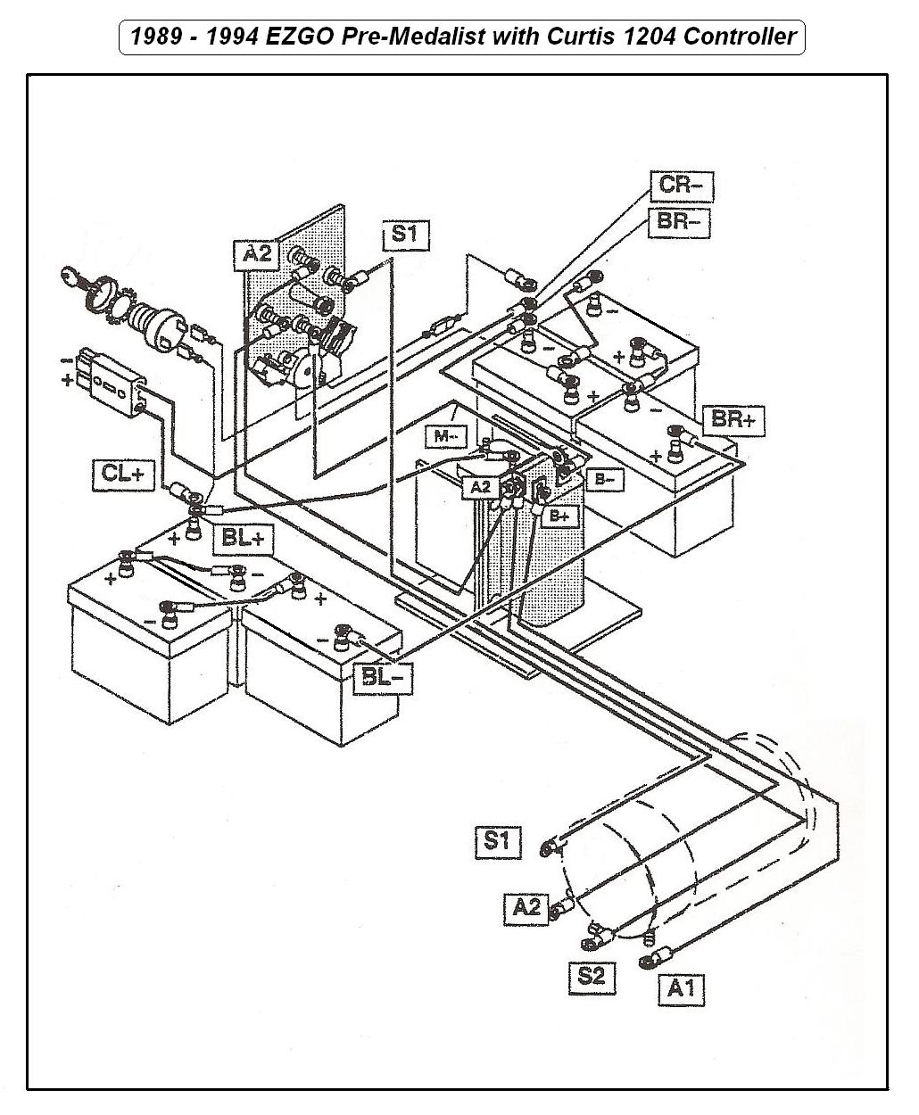 Ez go dom brake light wiring diagram ez go dom 2000 ez go wiring diagram 2000