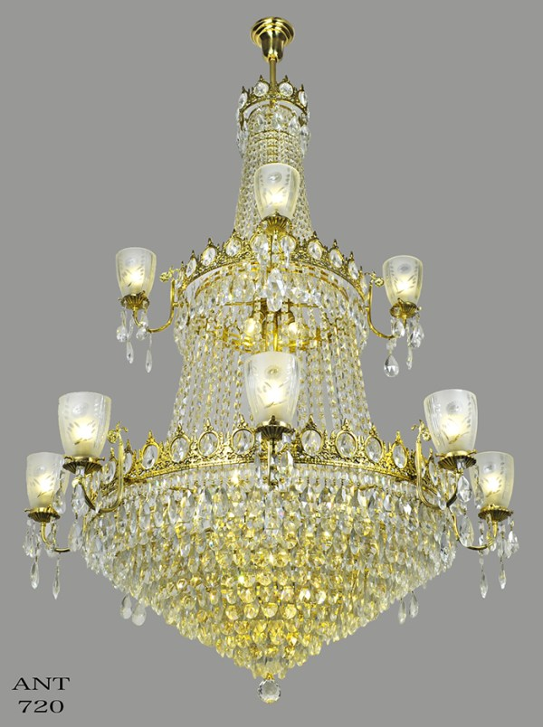 crystal chandeliers # 88