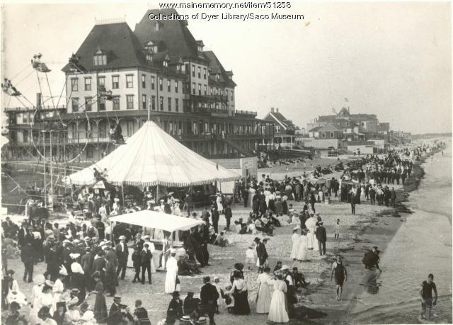 Vintage Maine Images Item 51258 Hotel Fiske Old