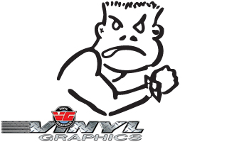 Vehicle Graphics Vg431 Custom Vinyl Bad Boy Logo Decals