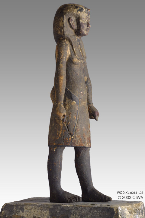 Virtual Egyptian Wood Statue Of King Smenkhkare Dyn 18
