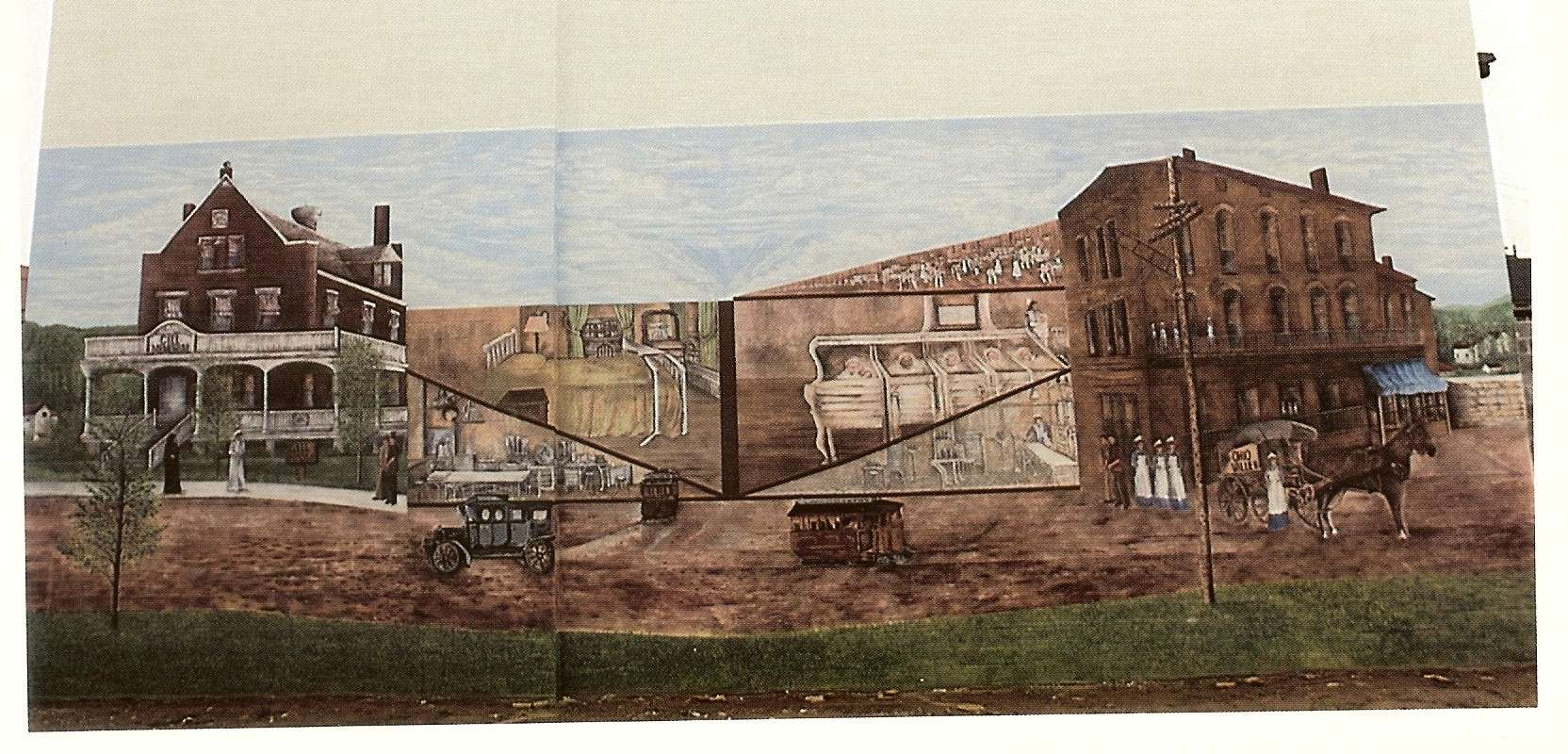 City Ohio Village Pleasant