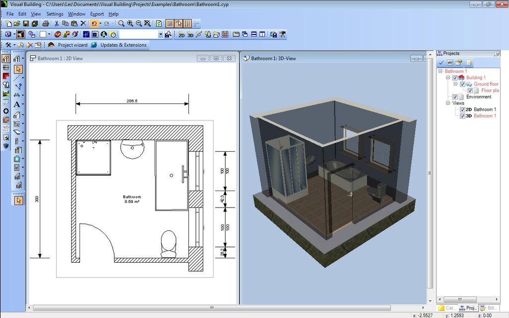 Bathroom Design Tool 2d