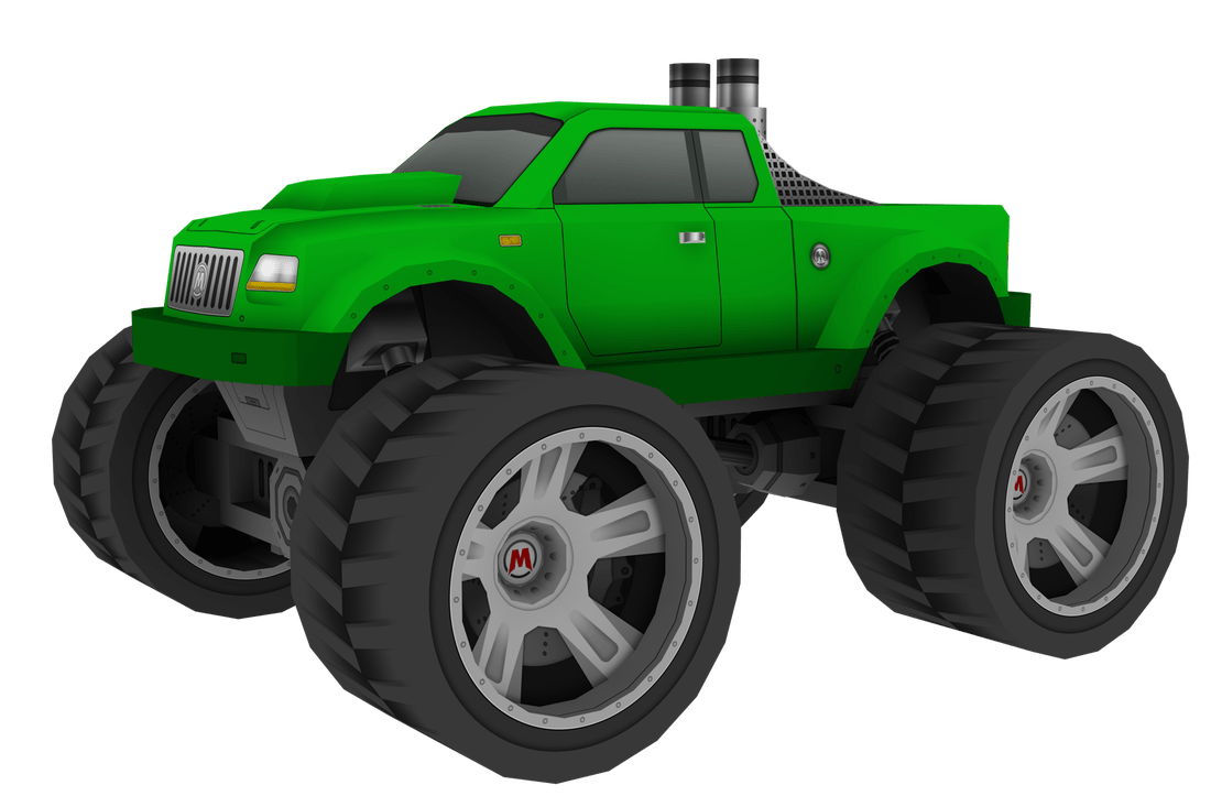 Papercraft 3d Monster 4x4 Trucks