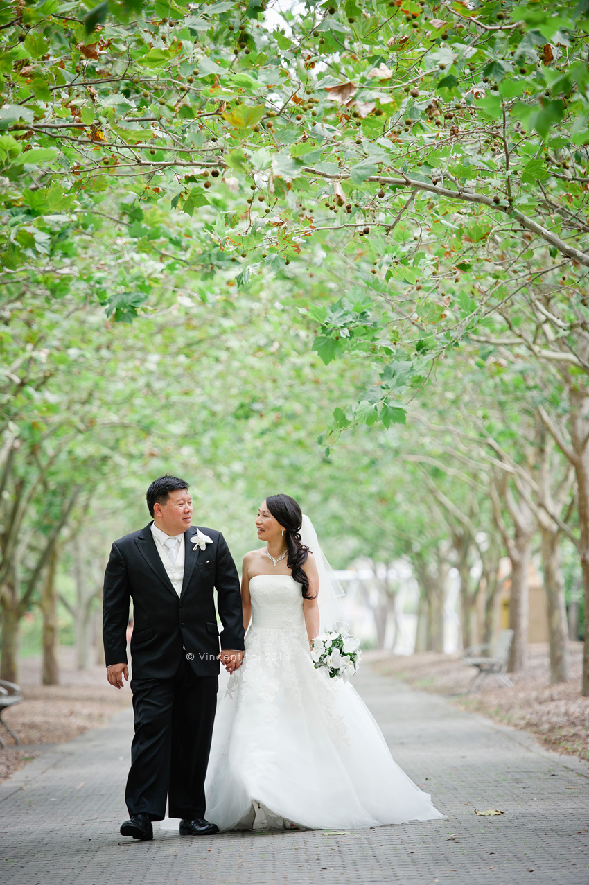 Wedding Ceremony At Bicentennial Park Lake Belvedere Sydney Olympic Park Vincent Lai