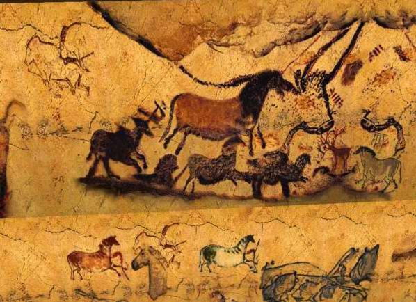 Paleolithic House Drawing