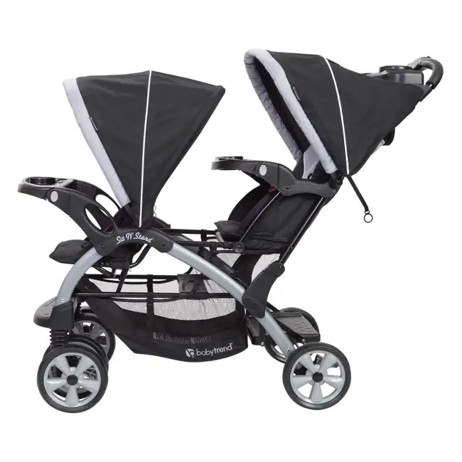 Baby Trend Sit N Stand Double Stroller Fusion