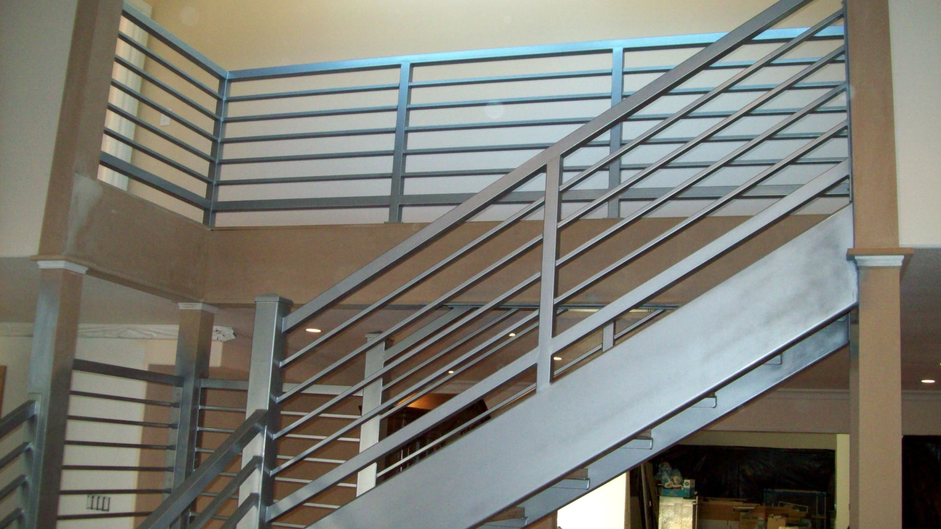 Railings » V M Iron Works Inc In The San Jose Bay Area   Ladder Railing Design Iron   Grill   Stair Parts   Wrought Iron   Metal   Banister