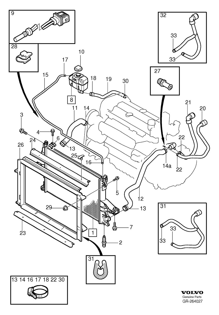 roger vivi ersaks: 2007 Volvo S60 Engine Diagram