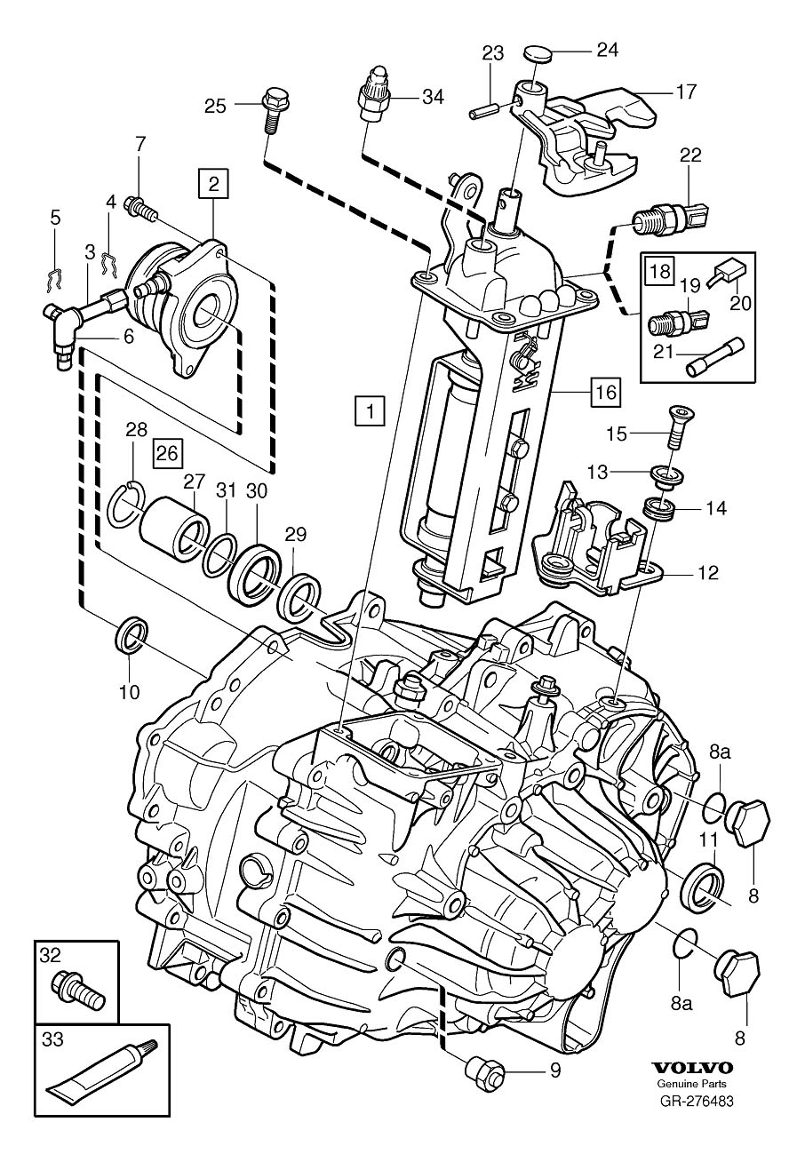1993 Volvo 960 Engine Diagram