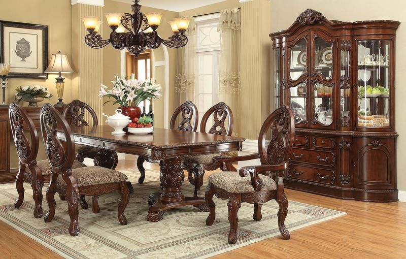 Room Large Dining Round Tables Leaves