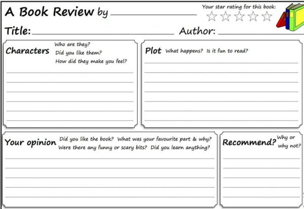 how to write a book review # 8