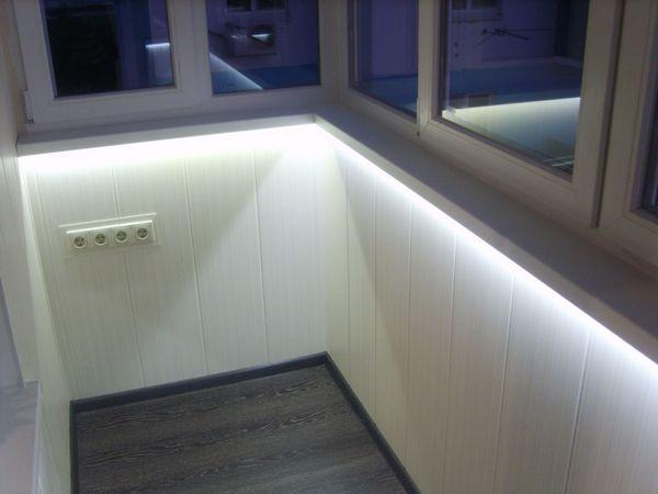 Ekstra belysning på altanen med LED-strip