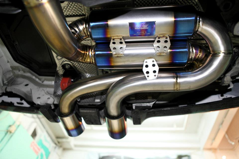 Titanium Exhaust 9 Vw Tuning Mag