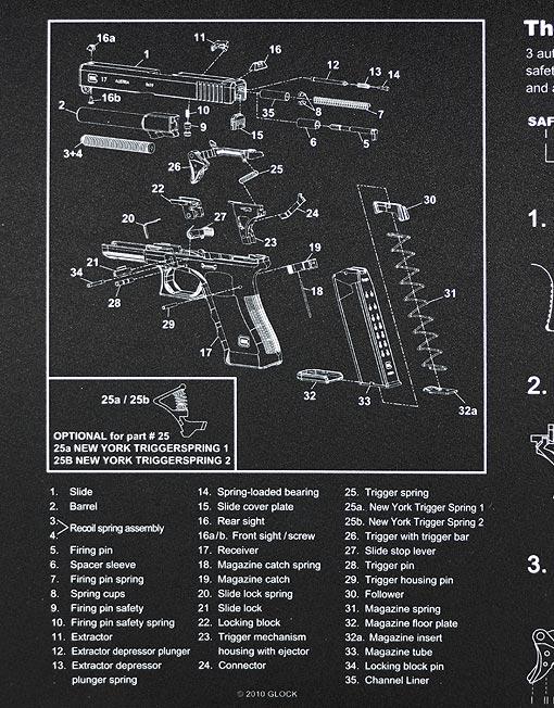 Glock Armourer S Bench Mat Vx Tactical