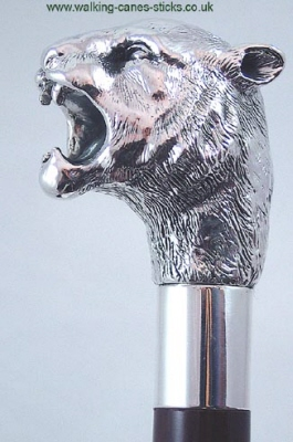 Silver Tiger Collector S Walking Cane Scotties Walking Cane Amp Stick Shop